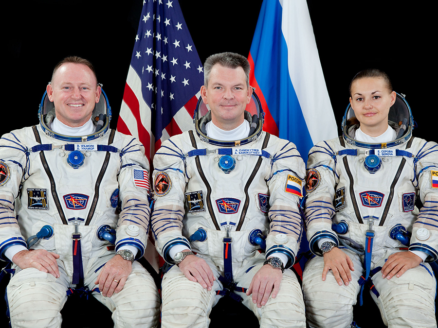 Expedition 42 Trio
