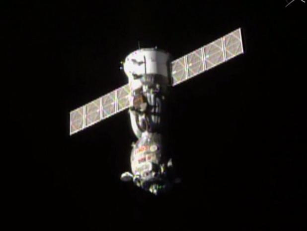 Soyuz TMA-14M Undocks
