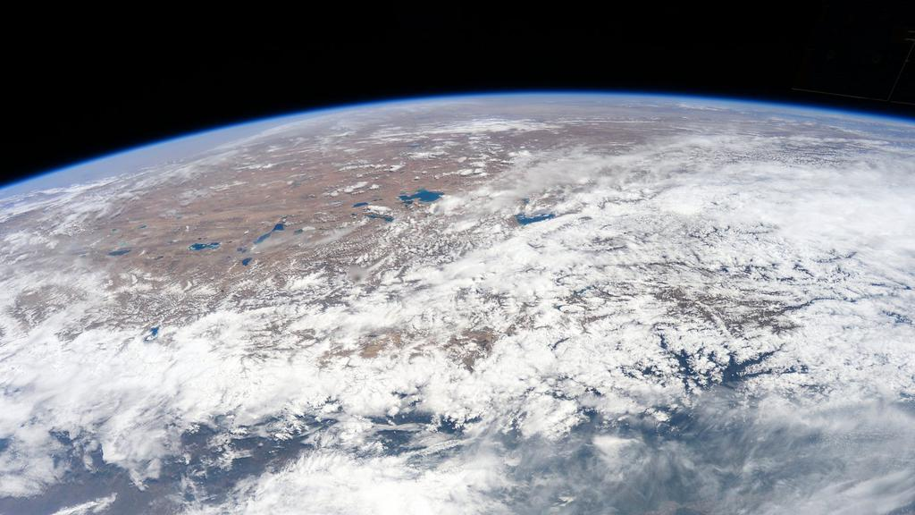 Nepal seen from the space station