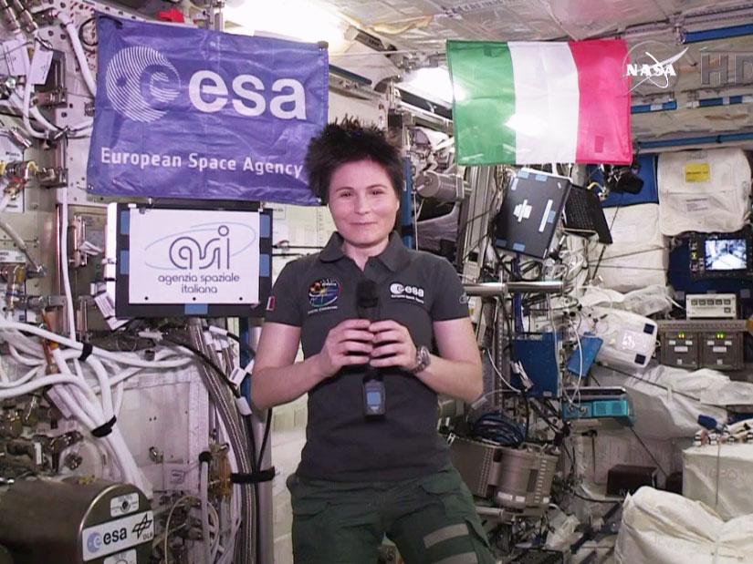 Astronaut Samatha Cristoforetti