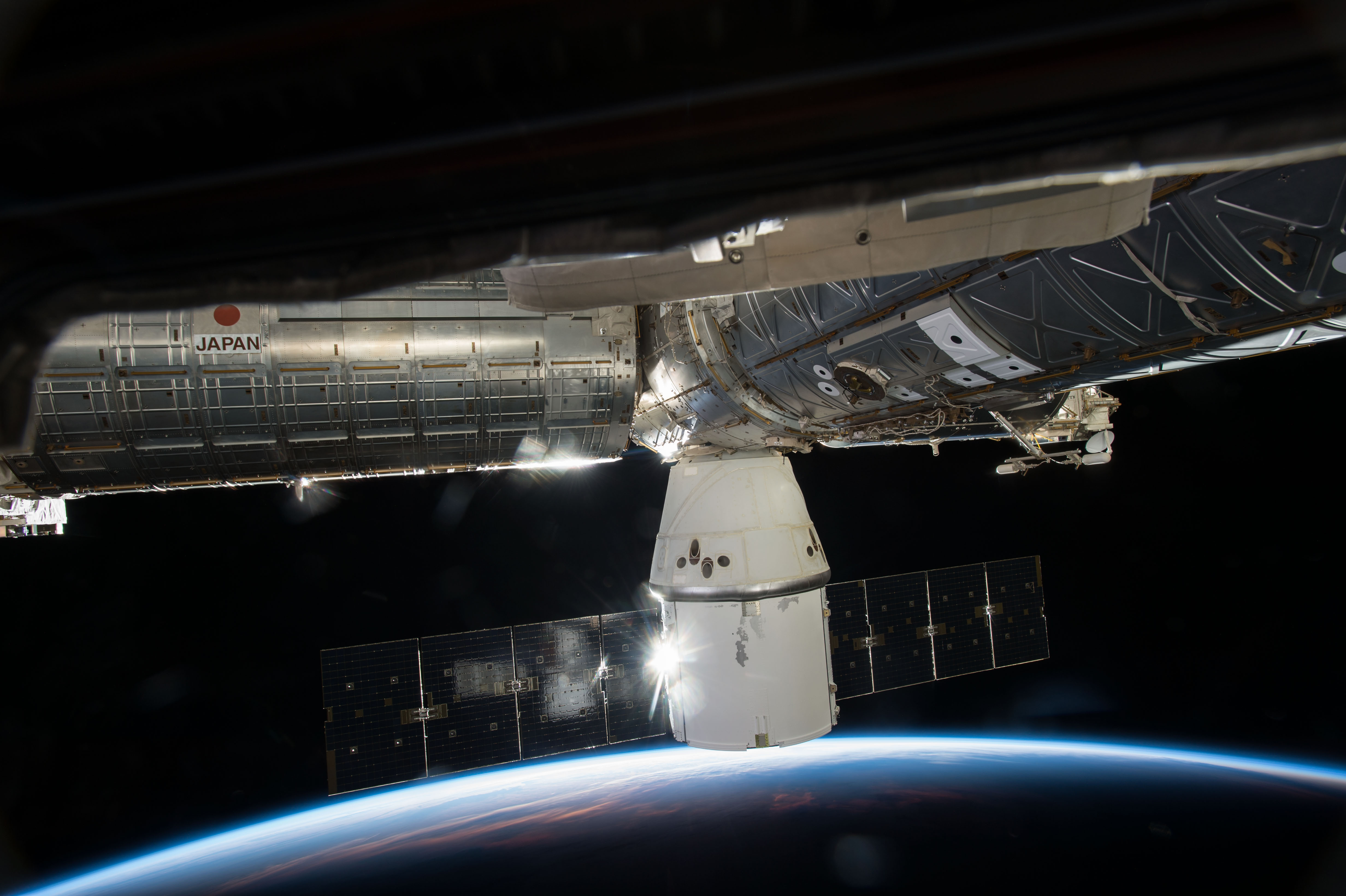 earth dragon from spacex - photo #23