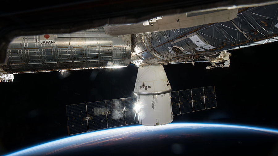 SpaceX Dragon cargo capsule