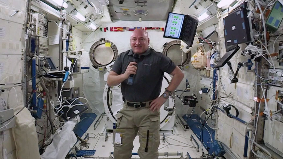 One-Year Crew Member Scott Kelly