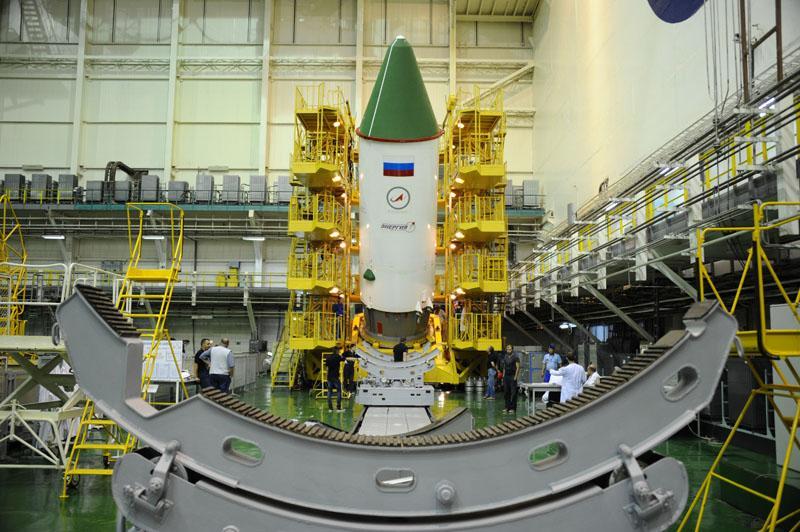 The ISS Progress 60 spacecraft