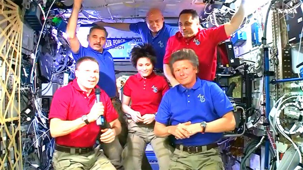 Last Full Day in Space for Expedition 43 as Station Changes Command