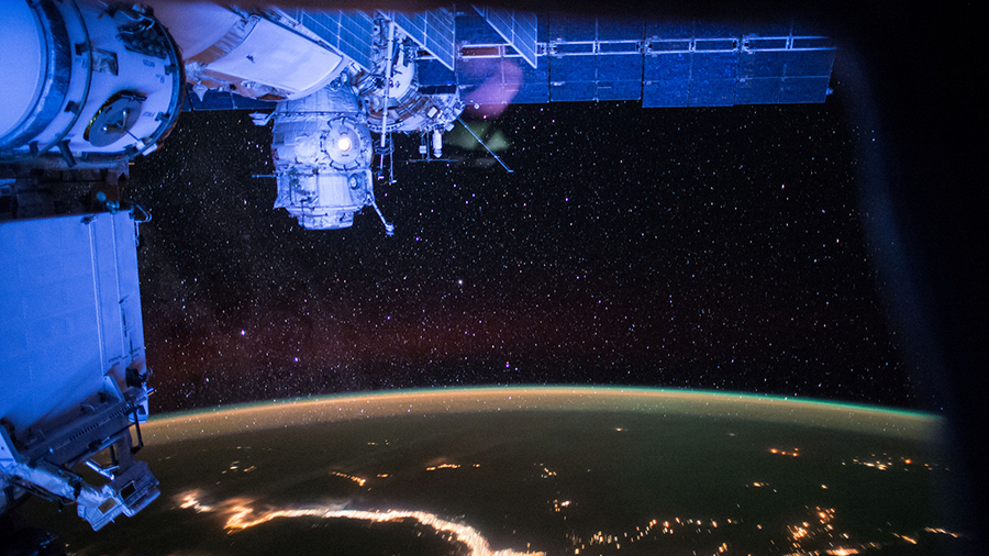 an analysis of the international space station A portable, rapid, microbial detection unit, the lab-on-a-chip application development portable test system (locad-pts), was launched to the international space station (iss) as a technology demonstration unit in december 2006.