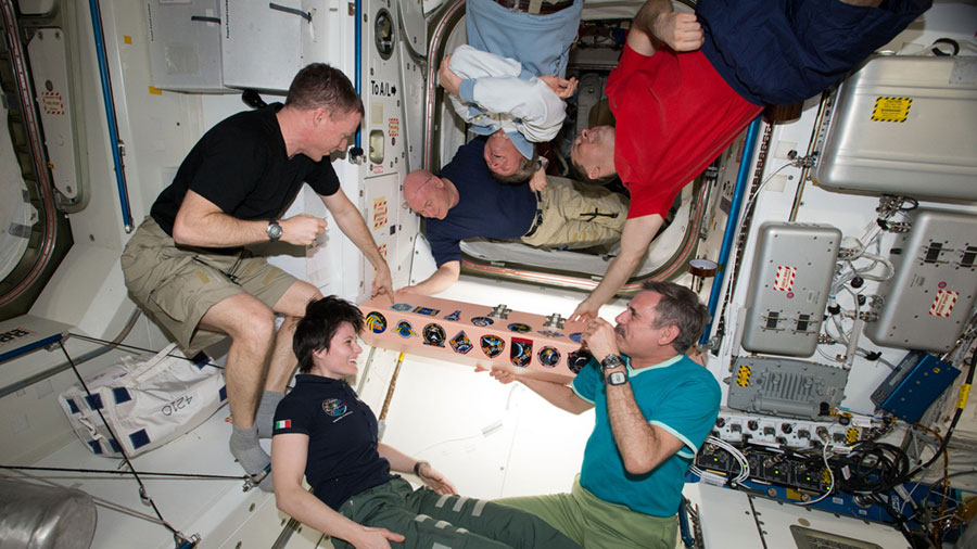 The Expedition 43 crew