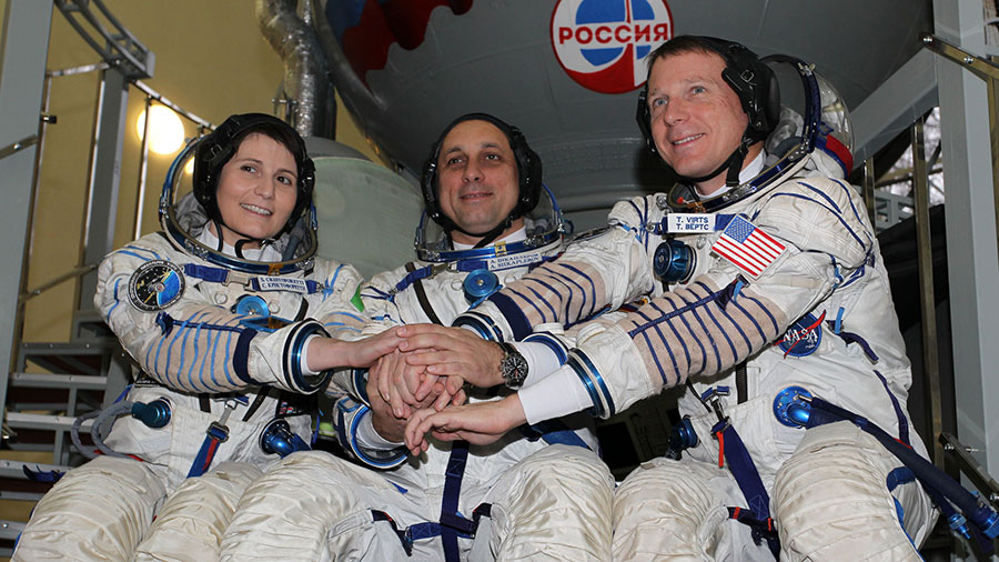 Expedition 43 Trio
