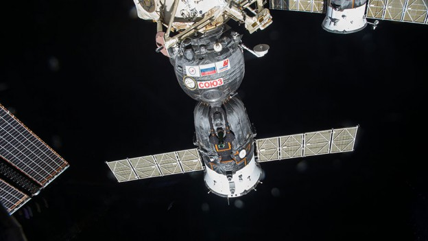 Station Avoids Satellite Fragment, Spacewalk Preps Start