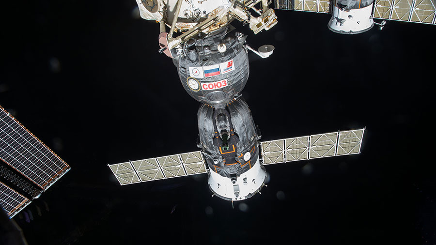 The new Soyuz TMA-17M spacecraft