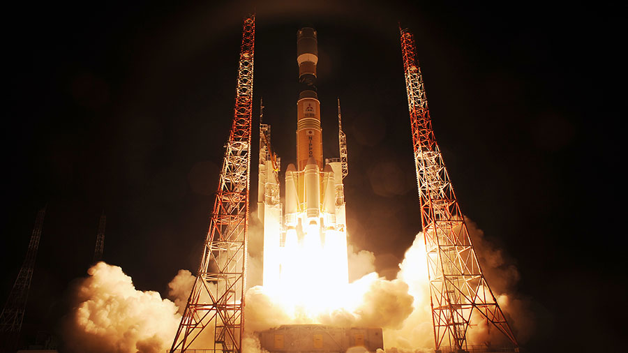 The Kounotori-4 Launches