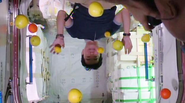 Astronaut Kimiya Yui