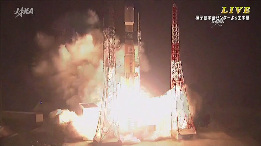 Japan's H-IIB Rocket Launches
