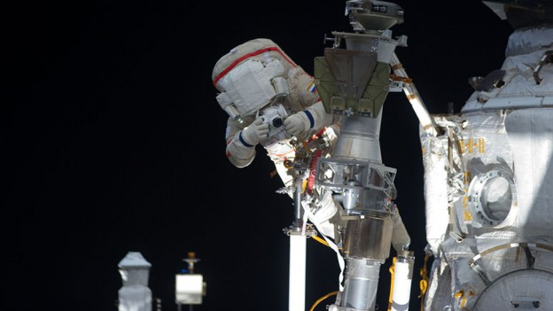 NASA TV Provides Live Coverage of Today's Spacewalk