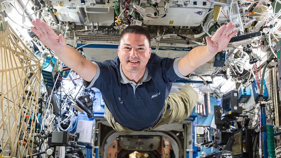 Astronaut Kjell Lindgren