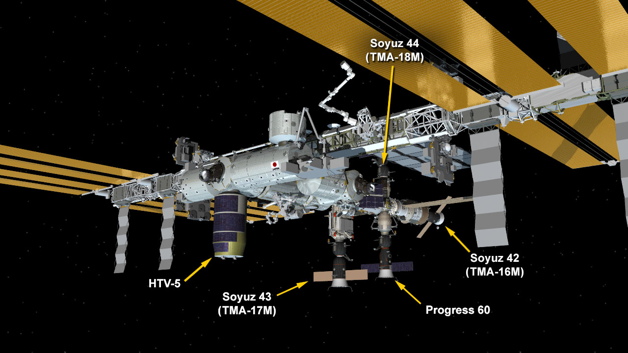 Sept. 4, 2015: International Space Station Configuration