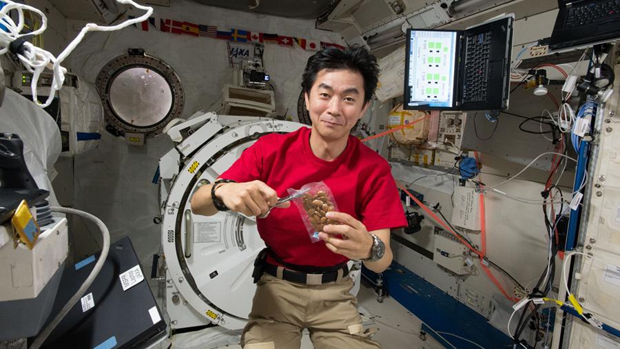 JAXA Astronaut Kimiya Yui