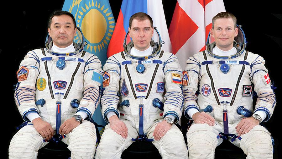 Soyuz TMA-18M Crew Members