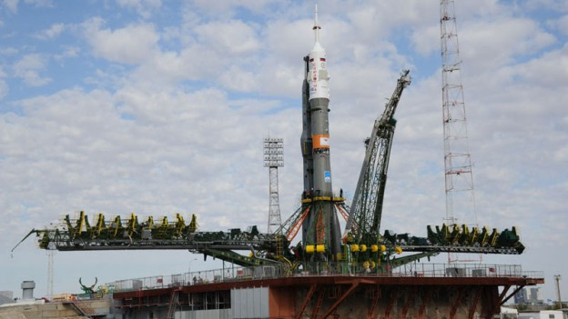 Watch Soyuz Rocket Launch on NASA TV at 11:45 p.m. EDT