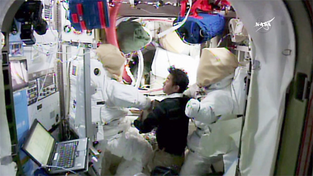 Cubesat Pair Deployment on Hold as Spacewalks Preps Underway