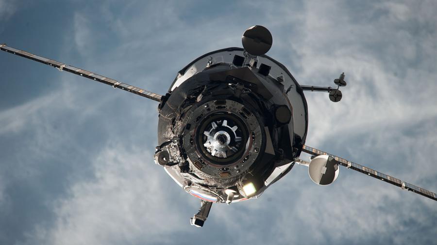 Progress Spacecraft Docking