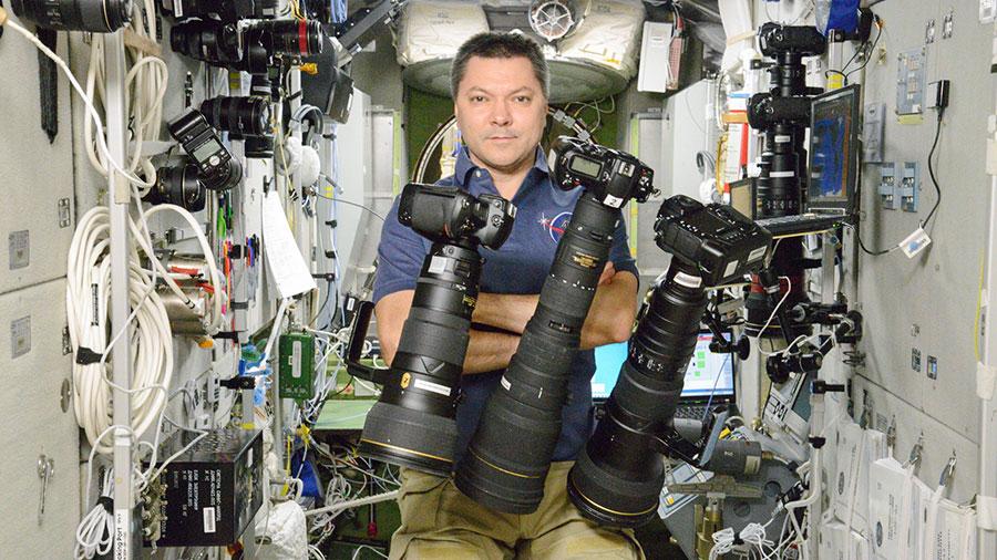 Cosmonaut Oleg Kononenko