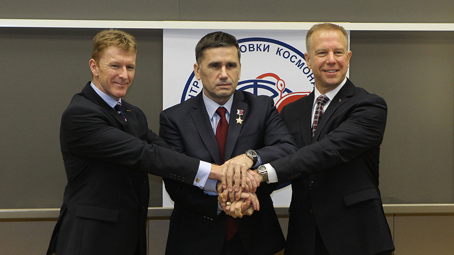 Expedition 46-47 Crew Members