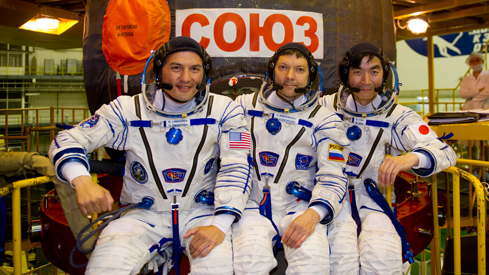 Expedition 45 Crew Members