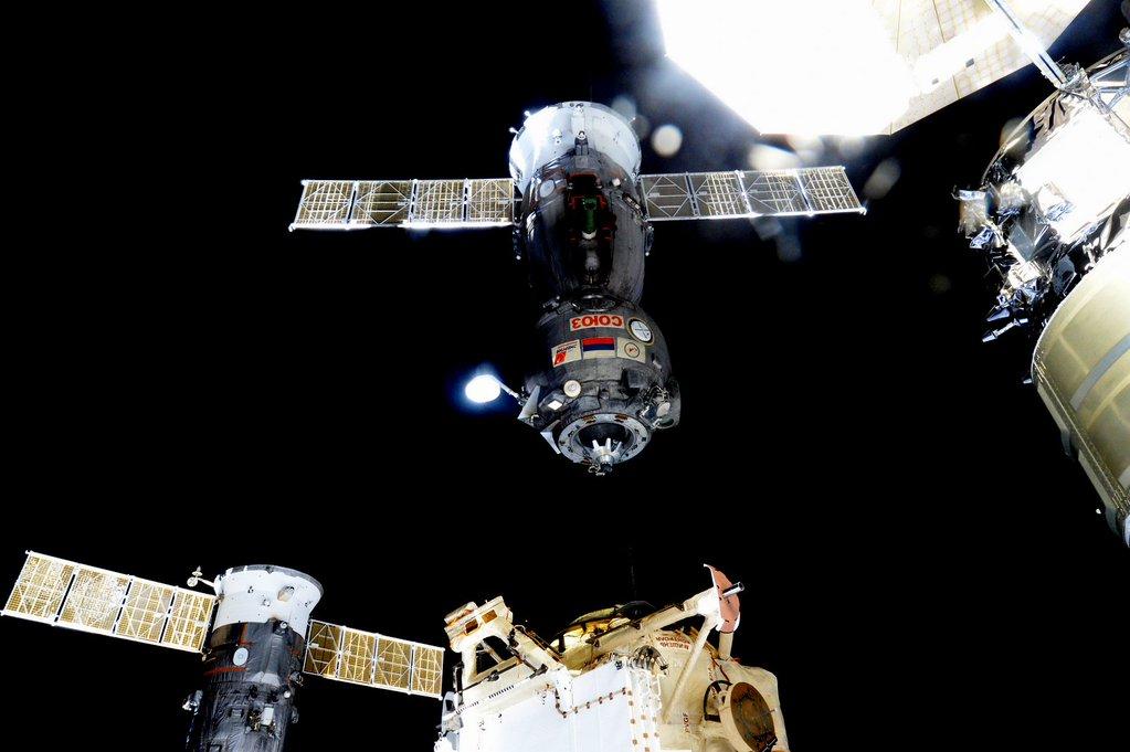 Soyuz Undocks