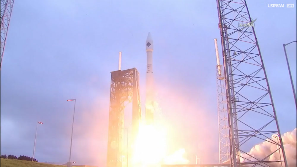 The Atlas V Rocket Launches