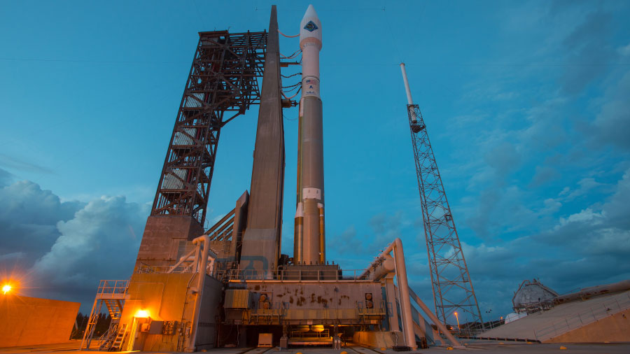 Atlas V Rocket and Cygnus Spacecraft