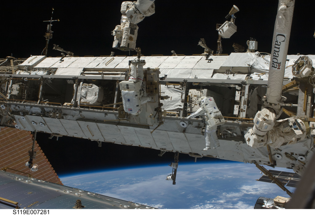 STS-119 Spacewalk March 2009