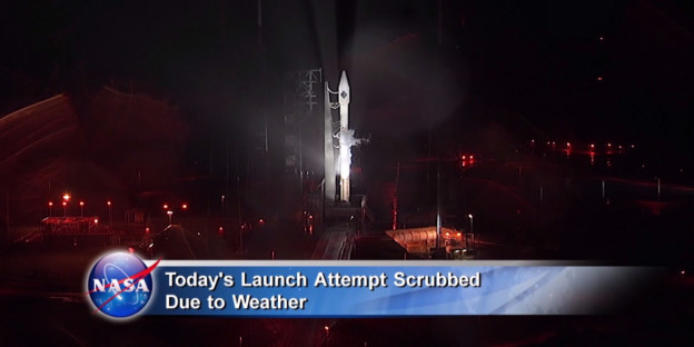 Cygnus Launch Scrubbed Till Friday