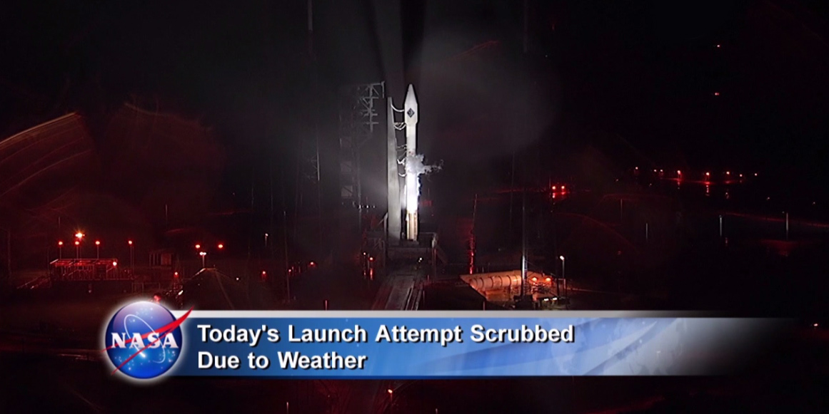 Cygnus Launch Attempt Scrubbed Due to Weather