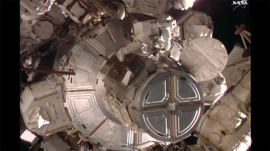 Spacewalker Tim Kopra