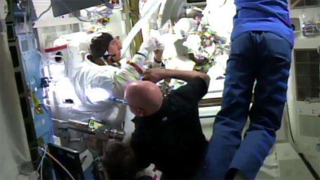 Spacewalk Ends Early After Water Detected in Helmet
