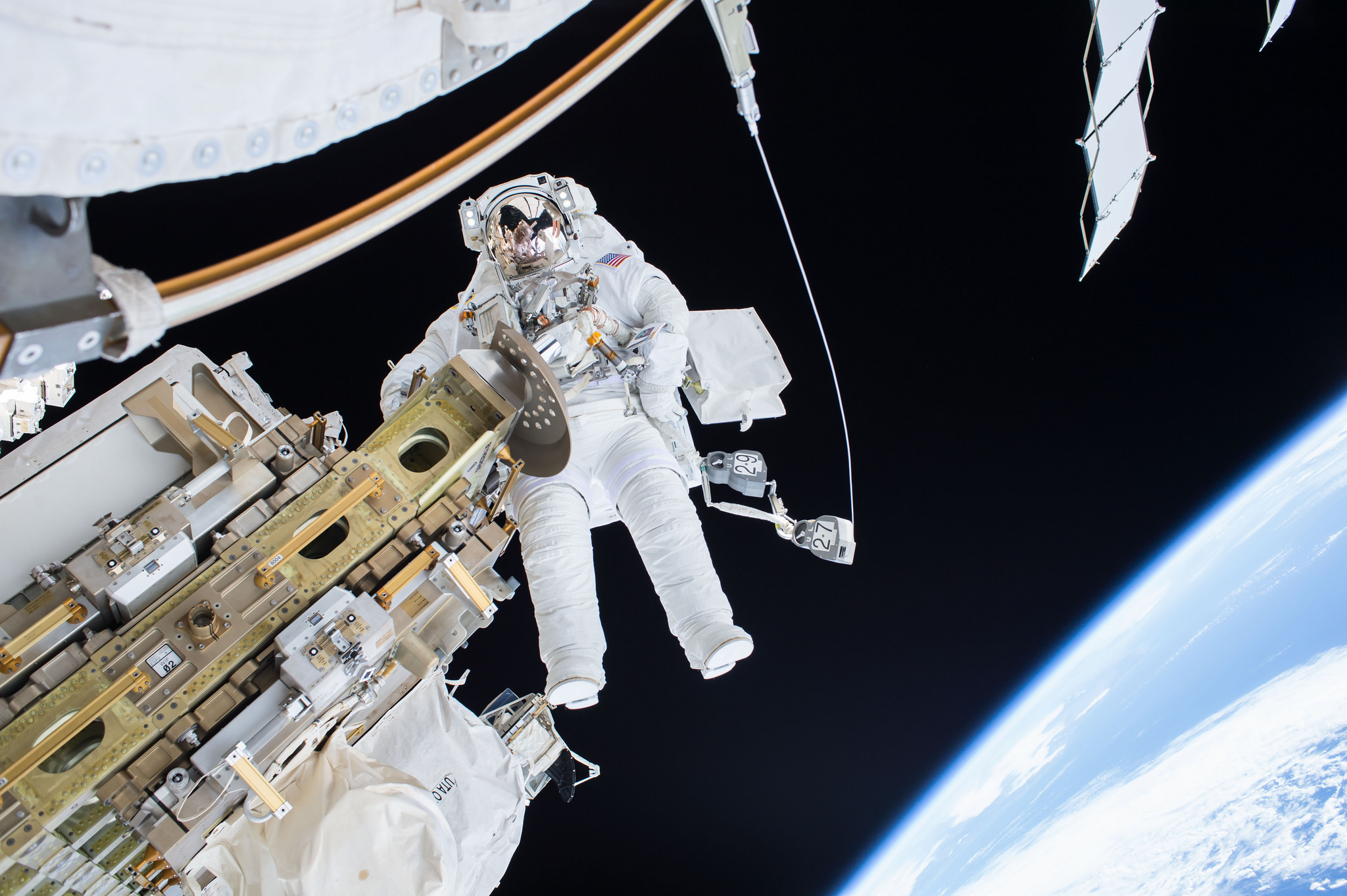 NASA astronaut Tim Kopra