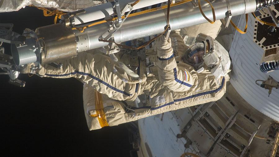 Cosmonaut Sergey Volkov