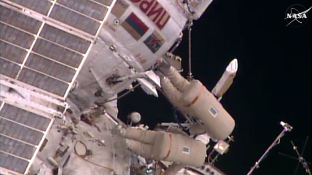 Second Spacewalk of Year Complete