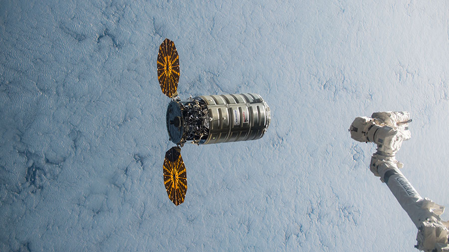 Cygnus Prepares for Capture