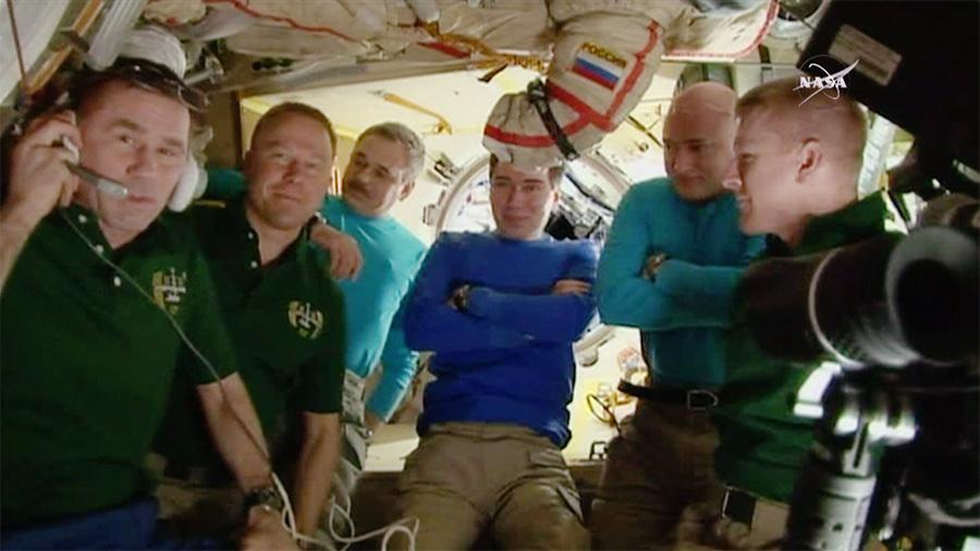 Crew Farewell