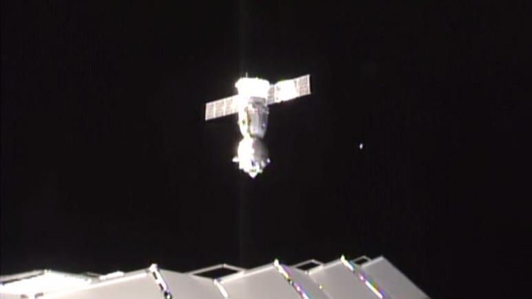 Soyuz TMA-18M Undocks
