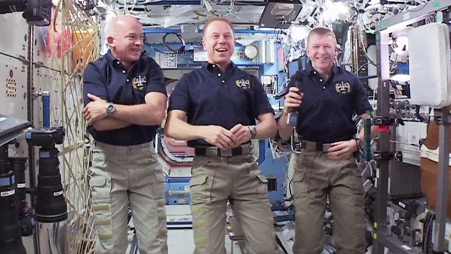 Expedition 47 Astronauts