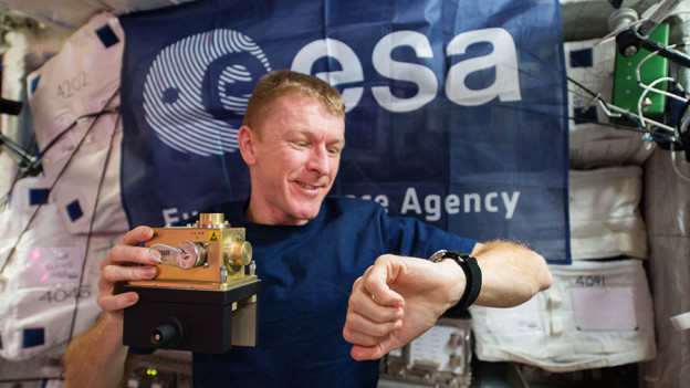 Astronaut Completes London Marathon, Station Trio Relaxes