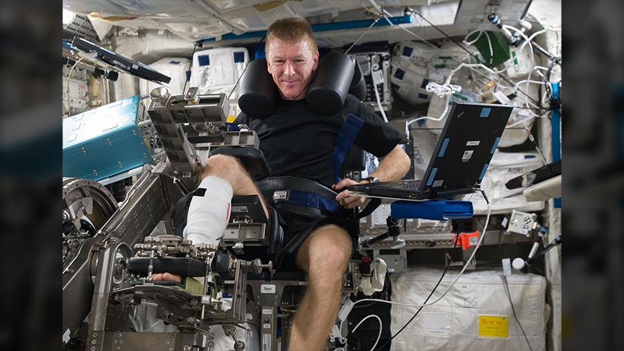 Astronaut Timothy Peake