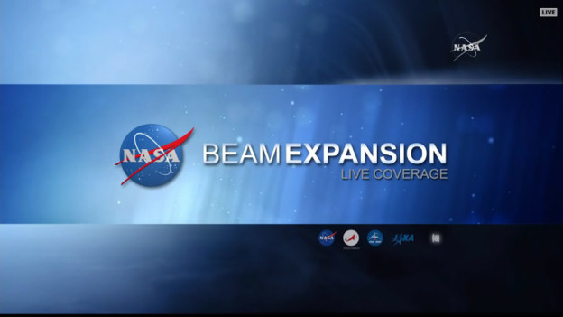 BEAM Coverage on NASA TV Contunues