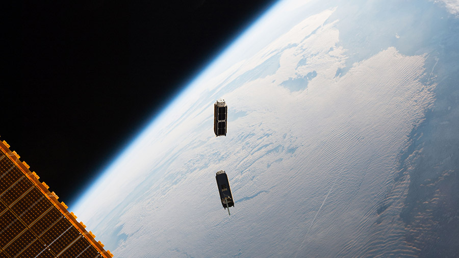 Cubesats Released