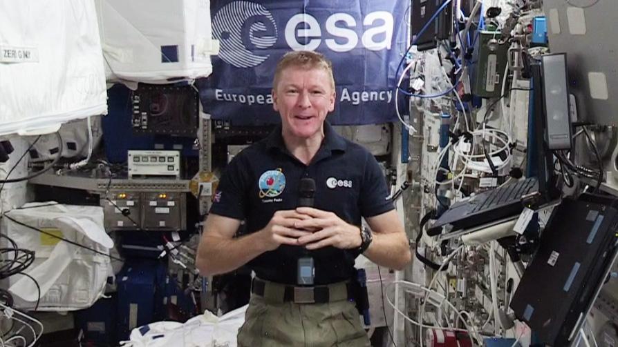 Astronaut Tim Peake