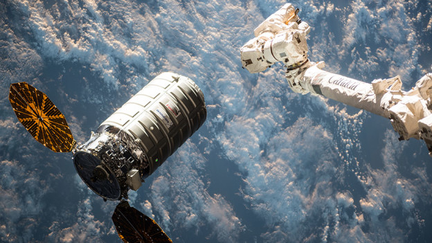 Watch Astronauts Release Spacecraft from Robotic Arm