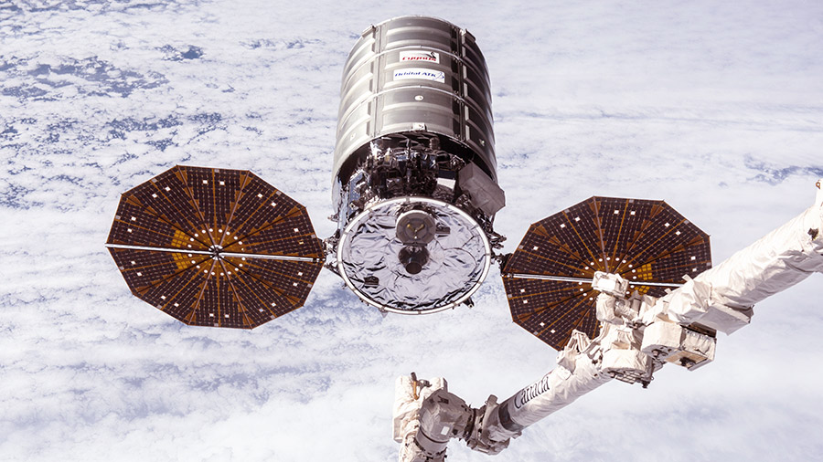 Cygnus Space Before its Capture